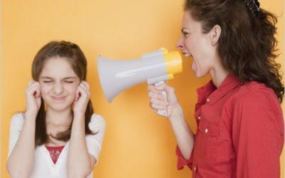 Quando discuti con tuo figlio come risolvi la situazione?