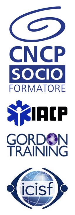Francesca Coddetta è socio formatore supervisore CNCP, Counsellor professionista, Gordon Trainer