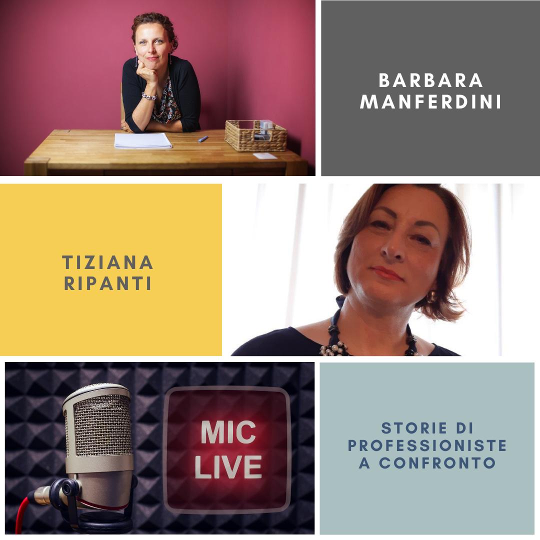 Tiziana Ripanti e Barbara Manferdini