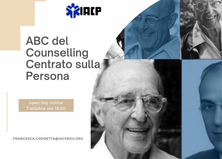 OPEN DAY IACP counselling